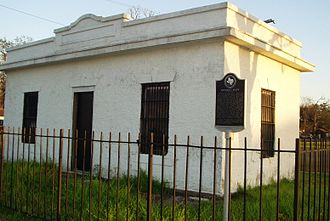 Port Neches, Texas - Grigsby's Bluff Jail, Port Neches