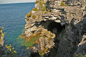 Tobermory, Ontario - The Grotto