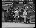 Group; Patrick J. Hurley, center. State, War and Navy Building, Washington, D.C. LCCN2016889240.jpg