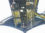 Grumman S2 (S2F) cockpit overhead panel, throttles (4310550901).jpg