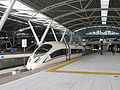 Guangzhou South Railway Station Platform CRH3 EMU.jpg