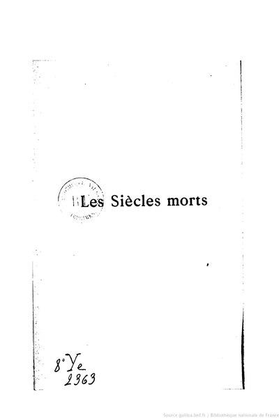 File:Guerne - Les Siècles morts, III, 1897.djvu