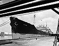 Gulf Oil Corp., Marine Dept. Loading Tanker (8205316985).jpg