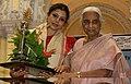 Guru Sanchita receiving Raas Ratna Award.jpg
