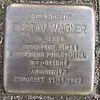 Stolperstein für Gustav Wagner