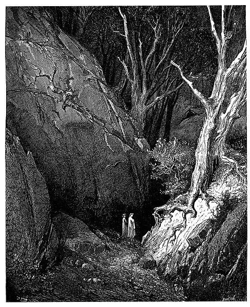 File:Gustave Doré - Dante Alighieri - Inferno - Plate 5 (End of Canto I).jpg