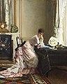 Gustave Léonard de Jonghe - The embarrassing reply.jpg