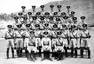 History of Hong Kong Police - Police officers in summer uniform. Everything, except for the shorts, was used until about 2004/2005.