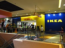 Entrance to an IKEA store at the 4th floor of MegaBox in Kowloon Bay, Hong  Kong.