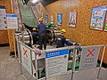 HK MTR 港鐵 上環站 Sheung Wan Station escalators repair OTIS Nov-2013.JPG