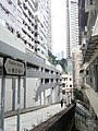 HK SW 上環 Sheung Wan 磅巷 Pound Lane 律打街 Rutter Street sign 榮華閣 Winner Court Jan 2017 Lnv2.jpg