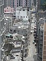 HK Sai Ying Pung 西營盤 Water Street 昌榮閣 Cheong Wing Court view 2nd Street roofs April-2011.JPG