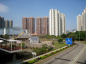Tsing Yi - Residential buildings in Tsing Yi