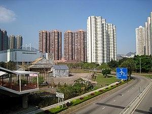 Tsing Yi - Residential buildings in Tsing Yi