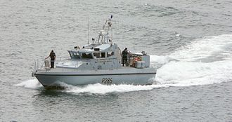 Gibraltar Squadron - HMS Sabre, one of the Gibraltar Squadron's two patrol boats.