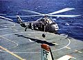 HSS-1 Seabat of HS-4 landing on USS Princeton (CVS-37) 1959.jpg