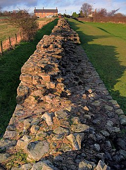 Hadrian's Wall, Heddon on the Wall - geograph.org.uk - 1736629