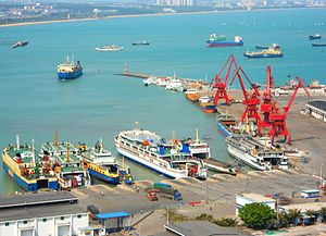 Haikou Xiuying Port - Image: Haikou Xiuying Port 16