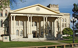 Hamilton, Texas - Hamilton County Courthouse