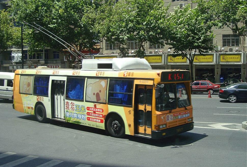 Hangzhou trolleybus 5713 in 2009