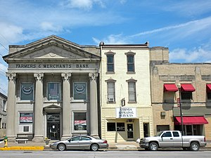 National Register of Historic Places listings in Marion County, Missouri - Image: Hannibal MO Broadway HD