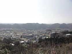 Hannou city from Mt.tenran.JPG
