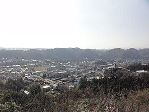Hannō, Saitama - View of Hannnō from Mount Tenran