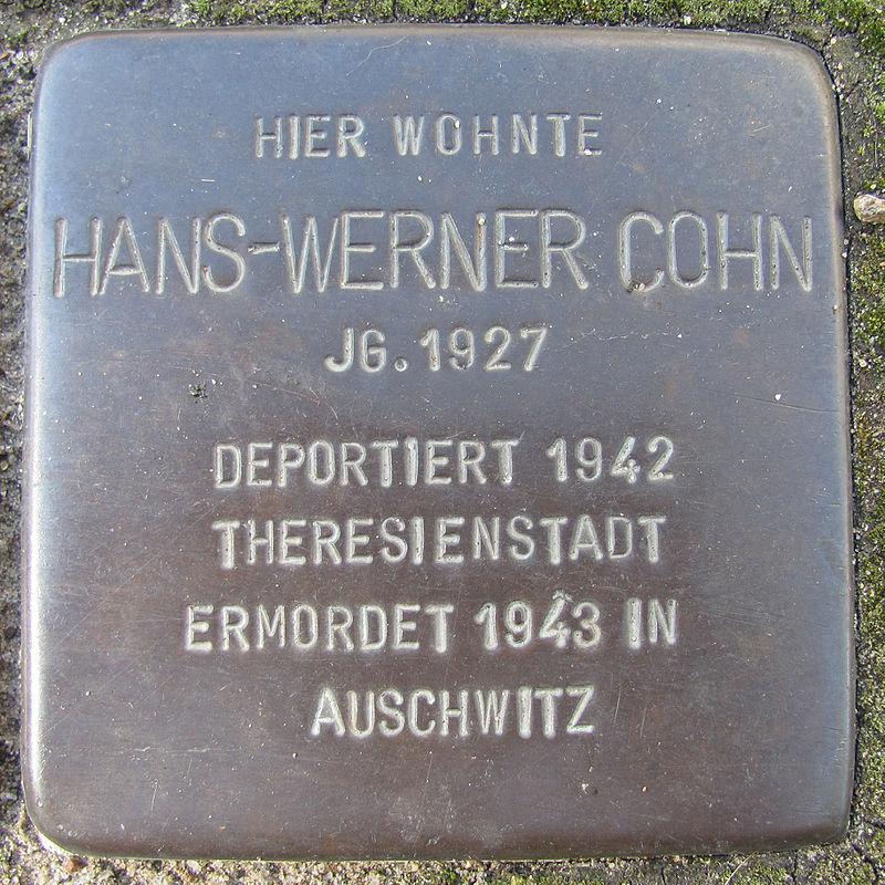 Hans-Werner Cohn - Dorfstücken 2 (Hamburg-Wandsbek).Stolperstein.nnw.jpg