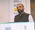 Hansraj Gangaram Ahir addressing at the Conference on the theme of 'PharmaMed 2015 Affordability, Accessibility, Acceptability-A Global Perspective', in New Delhi on December 09, 2015.jpg