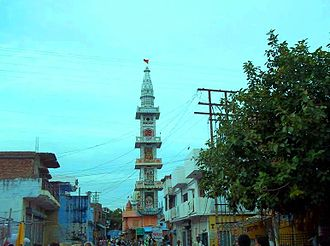 Balrampur district - Hanuman Garhi in Tulsipur is the tallest structure in district.