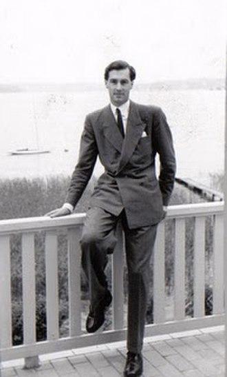 Edelstam Prize - Harald Edelstam in 1946.