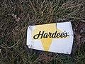 Hardees cup flattened Springfield.jpg