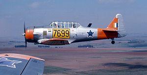 7 Squadron SAAF - Image: Harvard 7699 c