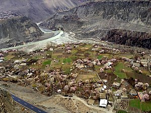 Hassanabad, Hunza - Hassanabad during Cherry blossom