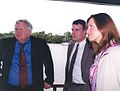 Hastert and Hart in Colonia, Uruguay 2004.jpg