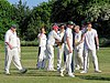 Hatfield Heath CC v. Netteswell CC on Hatfield Heath village green, Essex, England 33.jpg