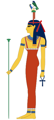 Hathor, mistress of the west.svg