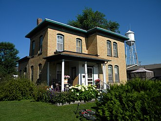 National Register of Historic Places listings in Day County, South Dakota - Image: Havens House NRHP 85000182 Day County, SD