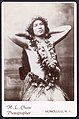 Hawaiian hula girl, photograph by Henry L. Chase, c. 1880s.jpg
