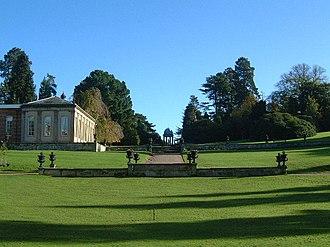 Hawkstone Hall - The gardens