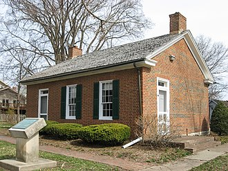 John Hay - The Hay-Morrison House, birthplace of John Hay, Salem, Indiana