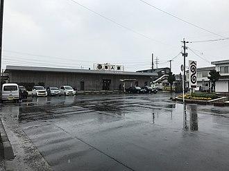 Hayato Station (Kagoshima) - Image: Hayato Station 20170320 4