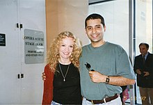 Hayley Mills and Firdous Bamji at the Kennedy Center, Washington D.C.jpg