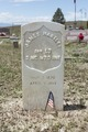 Headstone at Chico Cemetery, a windswept country graveyard near Avondale in Pueblo County, Colorado LCCN2015632768.tif
