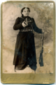 Heghine, wife of Kevork Chaush, 1910 postcard front.png