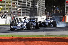 Heidfeld and Rosberg - 2008 Melb GP.jpg