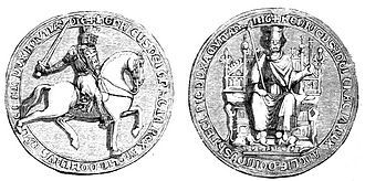 Treaty of York - Engraving of Henry's great seal