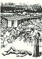 Heinz Kiwitz Antigone vor der Leiche des Polyneikes 1931.jpg