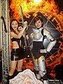 Hellgate London promotional models, Taipei Game Show 20080128.jpg