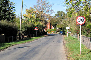 Hellingly - Image: Hellingly Village